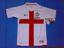 INTER Nike Away Boys L con ERRORI 2007 08 Centenario 100 Anni NEW! Rarissima!!