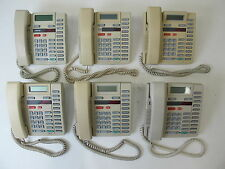 Lot of 6 Nortel Aastra 9316 Business Phones with Power Supplies