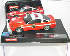 """CARRERA EVOLUTION 27177 FORD MUSTANG GT """"FIRE CHIEFF"""" MB"""