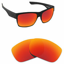 Hawkry Polarized Replacement Lenses for-Oakley TwoFace Orange Red Mirror