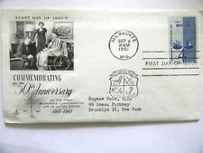 September 4th, 1961 50th Anniversary of Workmens Compensation First Day Issue