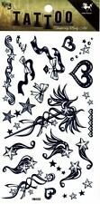 Temporary Tattoo Hearts and Stuff Ladies Body Art Removable HM488