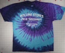 Rolling Stones Give Us Zufriedenheit Stuttgart Germany 8/3/06 Xl Tie-dye T-Shirt