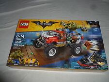 NEW LEGO SET KILLER CROC TAIL-GATOR 70907 THE BATMAN MOVIE 460 PCS TARANTULA NIB