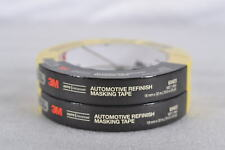 LOT OF 2 - 3M Automotive Refinish Paint Masking Tape 18mm x 32m, 3/4in x 35yd