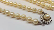 Collier de Perles Collier Perles 333 or (8 Carat) Fermeture Akoya Perles