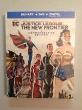 Justice League: The New Frontier (Blu-ray+DVD+Digital;2017,Steelbook)NEW
