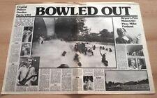 JACK BRUCE MICK TAYLOR STEVE HARLEY 1975 UK ARTICLE / clipping