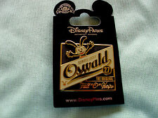 Disney * OSWALD - ALWAYS LUCKY - FULL O HOPS * New on Card Character Trading Pin