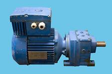 SEW Getriebemotor R37DT90S4/MM11/BW1, 1,1kW mit Frequenzumrichter 21 - 106 U/min