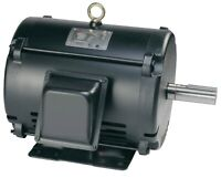 Electric Motor 1.5 HP, 1200 RPM, 182T Frame, 3 Phase, 208-230/460V, ODP 1.15 SF