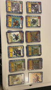 Lot (150+) Bandai 1999 -2001 Digimon cards. Mix of Holos, 1st edition and Normal