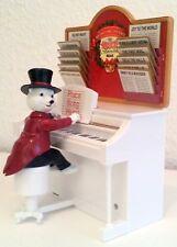 Mr. Christmas MAESTRO Polarbär  Bär am Klavier Weihnachten  12 Weihnachtslieder