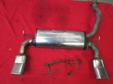Power tube Endschalldämpfer CRX eg2 VTi & eh6 ESI Bj. 1992-1998 del Sol