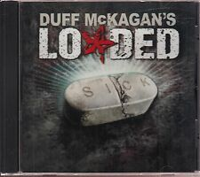 duff mckagan's loaded sick cd limited edition promo guns n roses
