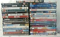 30 Mixed DVD Movie Lot/Bundle Comedy, Action, Romance, Drama - FREE SHIPPING