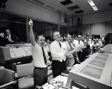 New 8x10 Photo: Flight Directors, Mission Control Celebrate Apollo 13 Return