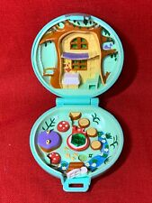 1991 Polly Pocket Jeweled Forest Green Compact