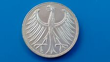 Silver coin Germany 5 mark silver-year 1972-D.