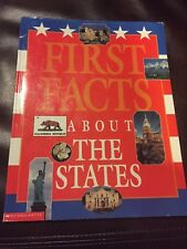 First Facts - About the States PB Scholastic 0439120586