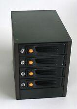 WiebeTech  RTX400-QJ  4 bay eSata port multiplier Hard Drive Enclosure