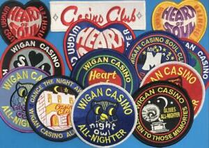 NORTHERN SOUL PATCH - SELECTION OF WIGAN CASINO REPRO PATCHES