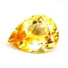 TOP BIG CITRINE : 34,40 Ct Natürlicher Gold Gelb Bahia Citrin aus Brasilien