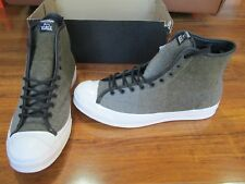 NEW Converse Woolrich Jack Purcell Sign Hi Top Shoes Mens 12 Jute/Dolphin $125.