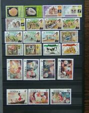 Dominica MNH range of Commemorative issues Disney scouts etc Odd imperfection