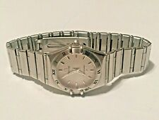 OMEGA Constellation Watch Stainless Steel/Stainless Steel Ladies Women's 25mm
