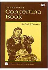 MEL BAY DELUXE CONCERTINA BOOK - MORE THAN 40 SONGS FOR CONCERTINA ACCORDION