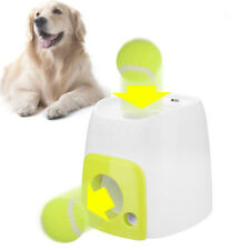 Automatic Pet Dog Launcher Tennis Ball Toy Fetch Thrower Throw Up Hyper Game