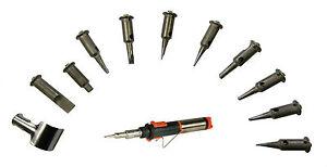 Portasol SuperPro Gas Soldering Solder Iron Replacement Tips Blower Deflector