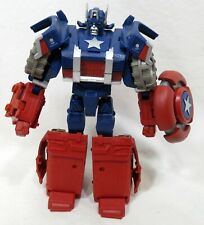 Hasbro Transformers Marvel Crossovers Captain America 2009 Version