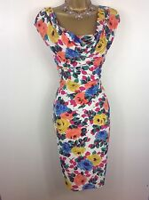 GORGEOUS PHASE EIGHT DRESS SIZE 16 PERFECT FOR SUMMER WEDDING, PARTY, RACES HOLS
