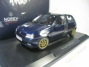 RENAULT CLIO WILLIAMS 1996 1/18 NOREV (BLUE)