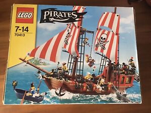 Lego Pirate Ship Brick Bounty 70413 100% COMPLETE Registered Postage Incl. Free