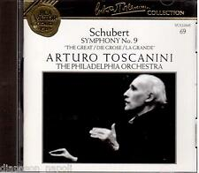 Toscanini Collection Vol. 69 - Schubert: Symphony (Sinfonia) No 9 (1941) - CD