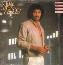 Stevie Woods(Vinyl LP)The Woman In My Life-Cotillion-90015-1-US-1982-Ex/NM