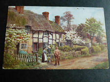 ARQ212 - WELFORD-On-AVON, GLOUCESTERSHIRE - A R Quinton #910 POSTCARD