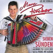 MARC PIRCHER - SIEBEN SÜNDEN  CD  14 TRACKS VOLKSMUSIK / SCHLAGER  NEU
