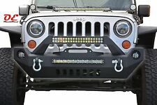 2007-2016 Jeep Wrangler JK Mid Length Front Winch Bumper KO Off Road 17