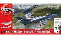A50185 Airfix: Mig 17F Fresco Douglas A-4B Skyhawk Dogfight Double in 1:72