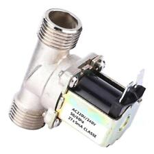 Brand New AC220/240V G1/2 NC Brass Electric Solenoid Valve N/C Water Inlet Valve