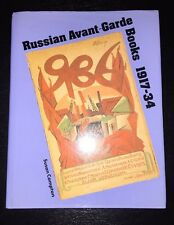 Russian Avant-Garde Books 1917-34 by Susan Compton (Hardcover)
