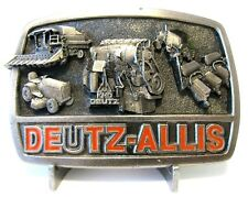 Deutz Allis Combine Lawn Tractor KHD Engine Planter Farm Equipment Belt Buckle