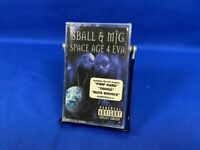 [NEW] 8Ball & MJG – Space Age 4 Eva | Cassette Tape Album 2000 RARE Hip Hop OOP
