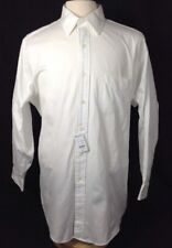 NWT Brooks-Brothers Traditional Fit Men's White Dress Shirt 17-36 Point Collar