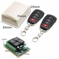 4Key Wireless Remote Control Key Fob for Car Garage Door Electric Gate Receiver