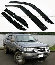 FOR 1996-2002 TOYOTA 4RUNNER N180 OFFROAD STYLE SMOKE WINDOW VISOR RAIN GUARD